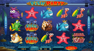 Fish Party -hedelmäpeli