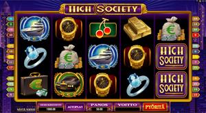 High Society -hedelmäpeli
