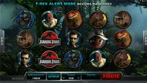 Jurassic Park -hedelmäpeli