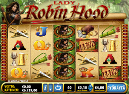 Lady Robin Hood -hedelmäpeli