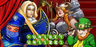 Unibetin Uniikki-kampanjassa pääset pelaamaan Unibetin yksinomaisia pelejä!